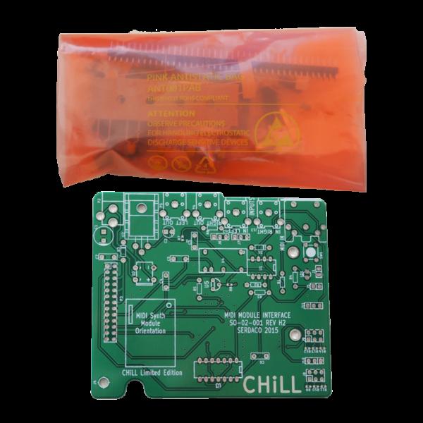 Waveblaster Module MIDI Interface Board 'Chill Limited Edition' V2 - Assembly Kit