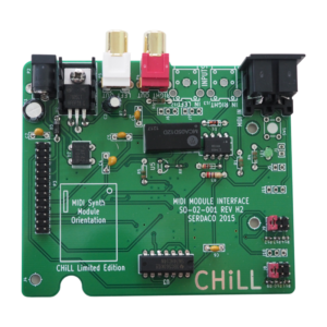 Waveblaster Module MIDI Interface Board 'Chill Limited Edition' V2