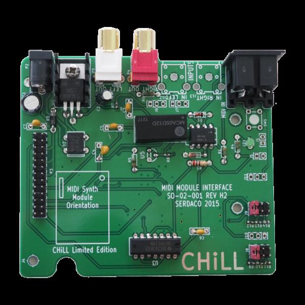 Waveblaster Module MIDI Interface Board 'Chill Limited Edition' V2