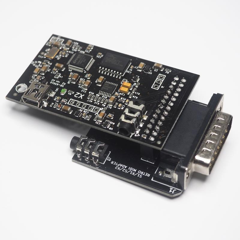 Wavetable Adapter - MPU-401 Joystick/Game Port - With Dreamblaster X2