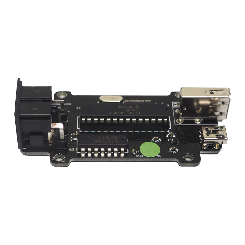 Image of the MIDI USB DIN Converter & USB Host Board - MIDI Device - PCB