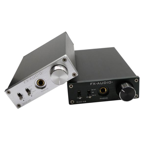 DAC-X6 – Digital to Analog Converter - Black & Silver