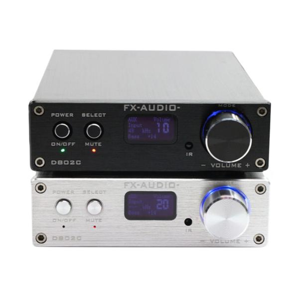 D802C - Full Digital Audio Power Amplifiers - Black & Gray