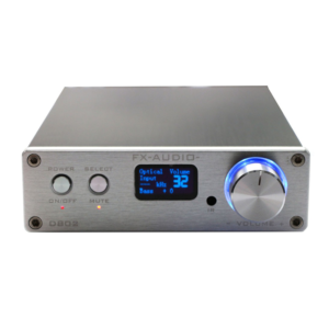 D802 – Full Digital Audio Power Amplifiers - Front