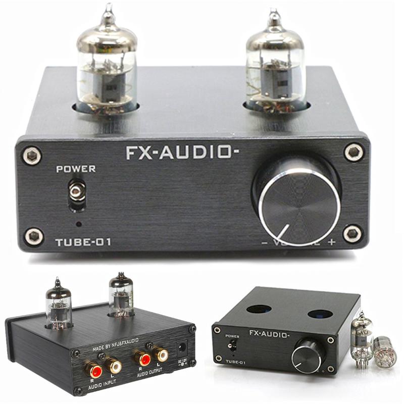 Tube-01 – Audio Tube Buffer Preamp - Black