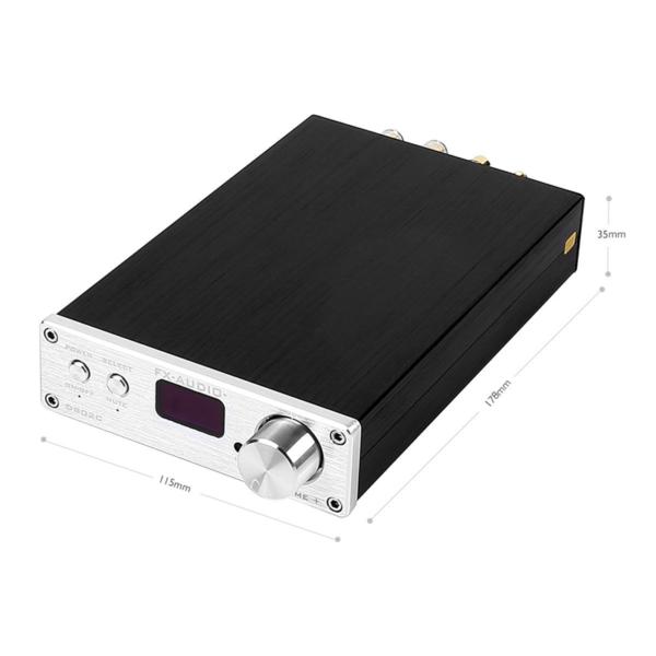 D802C - Full Digital Audio Power Amplifiers - Dimension
