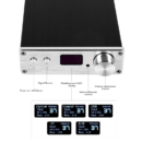 D802C - Full Digital Audio Power Amplifiers - Display