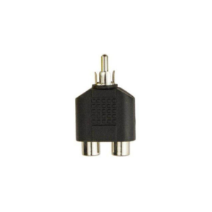 RCA Y Splitter AV Audio Video - 1 Male to 2 Female