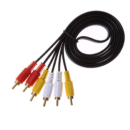 AV RCA Extension Cable - Male to Male