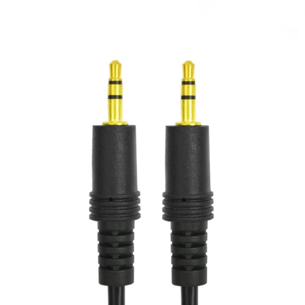 AUX Extension Cable - Male to Male - Stereo Jack TRS 3.5mm