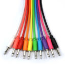 "Mono Patch Cables - TS 3.5mm 1/8"" - 5 Pack"