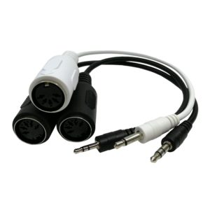 Mini Plug TRS TS to MIDI DIN Adaptor cables
