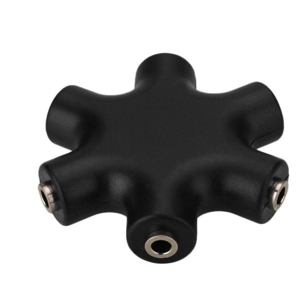 Patch Cable Splitter Mono Black