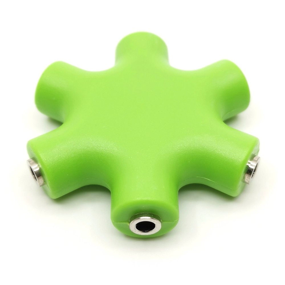 Patch Cable Splitter Mono Green